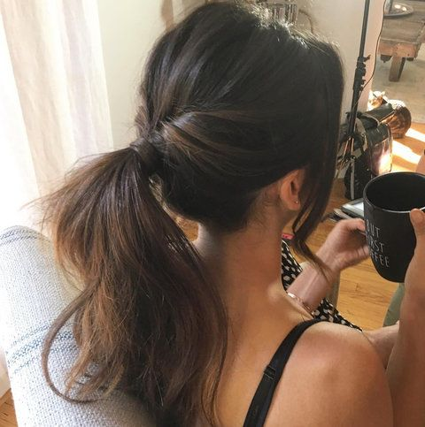 How to Style Your Hair After a Workout from InStyle.com