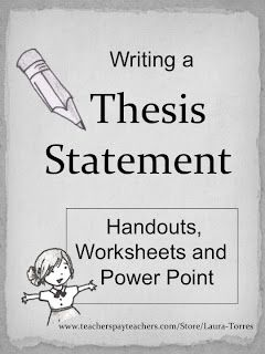 activities to teach thesis statements Is and then conducting reinforcement activities  to teach thesis statement and  thesis statements - sterling college writing thesis.