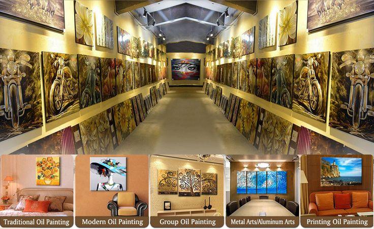 Nanan Yihui Painting & Arts Fty Co., Ltd. - Modern Painting,Stretcher Bar