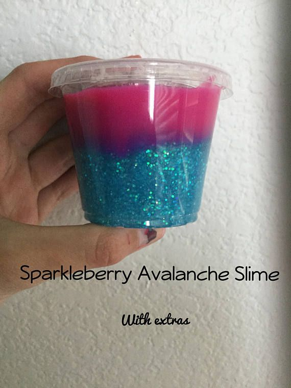 Sparkly Avalanche Slime  LIMITED EDITION