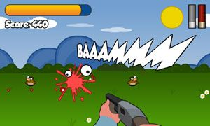 Jogue Rabid Rabbits online no Lejogos! Rabbit shooter para seu celular! Atire como muitos coelhos neste jogo online gratuito até que o tempo se esgote! Atualize suas armas e bata o recorde neste
