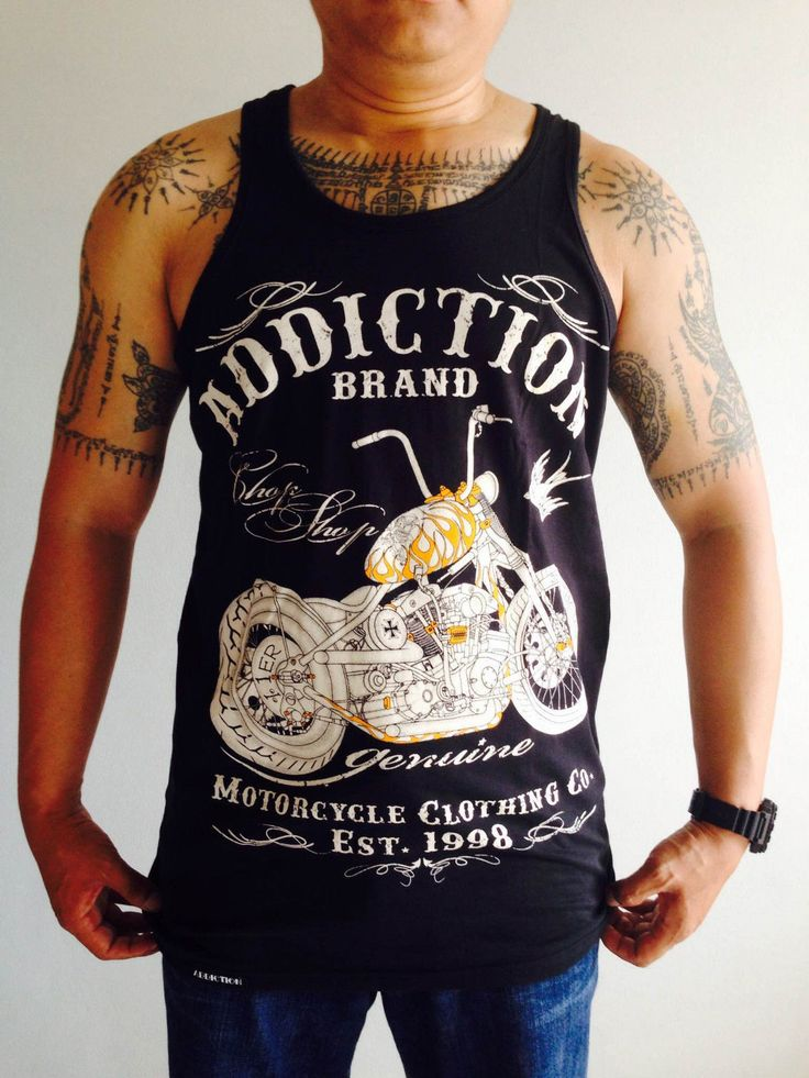 Men's Biker Tanktop 7 Designs Skull Motorcycle Tees Chopper Sleeveless Tshirt | eBay