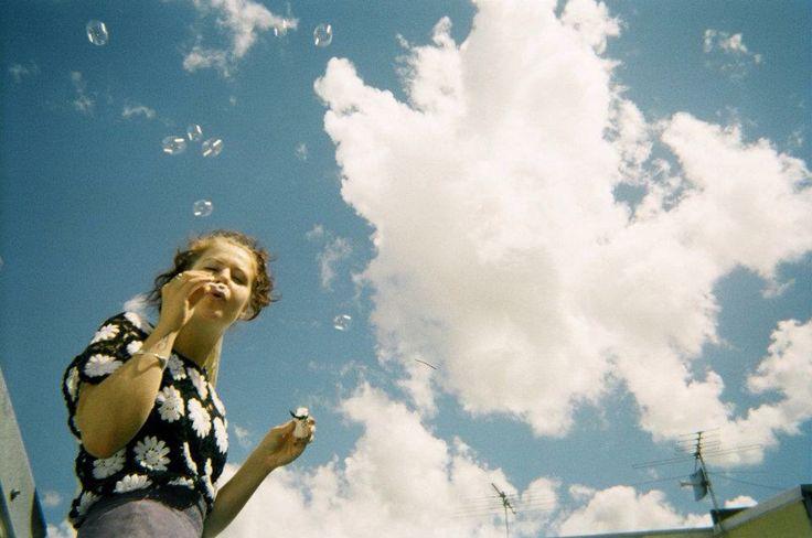 ☁️ Clouds , Melbourne. 35mm Film.