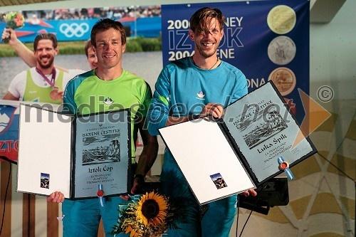 Iztok Čop in Luka Špik, veslača (Olympics-bronze)