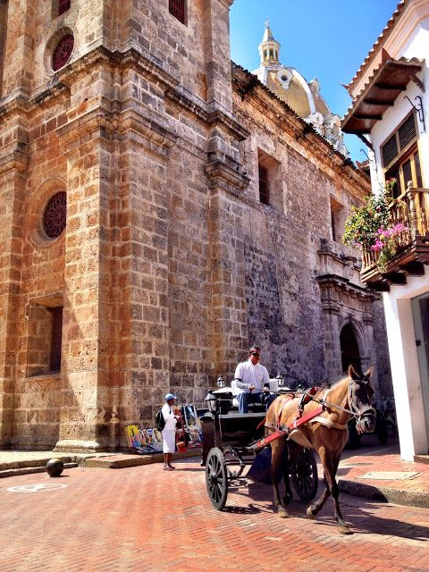 Cartagena de Indias, Colombia. Beautiful, full of history. Oldest colonial walled city of South America