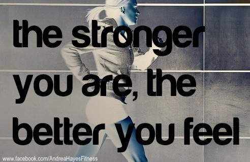 Don't be afraid to LIFT weights!