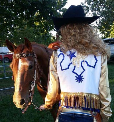 western_horse_show_clothing -  gypsy girl western show wear