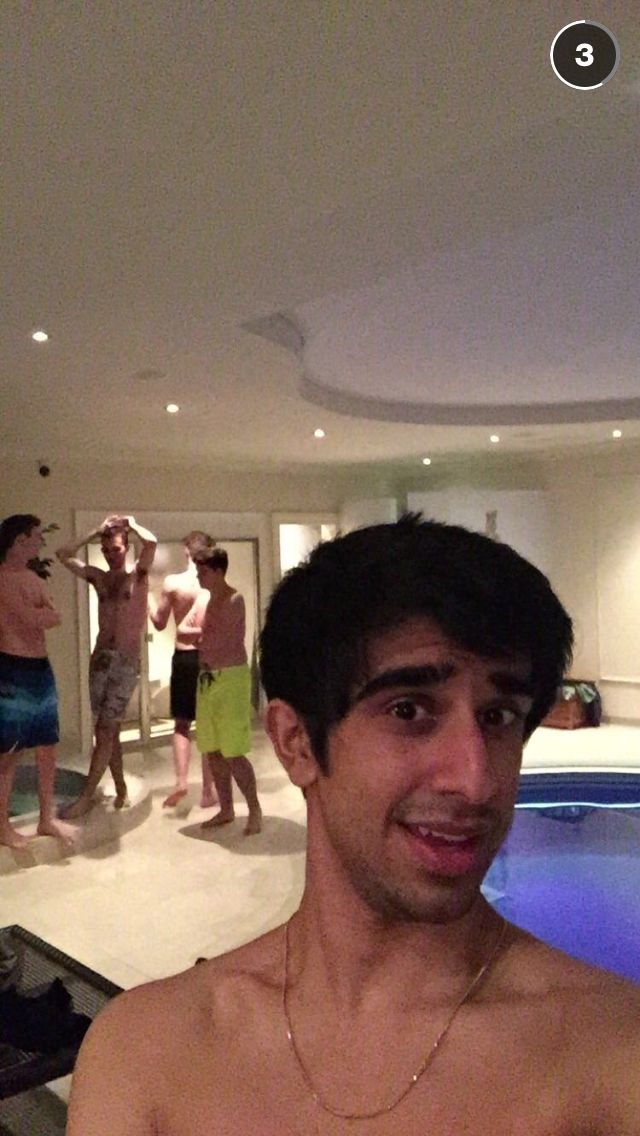 Pool night with the pack!