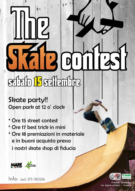 locandina #skate contest godfather presso il  #firewall #skatepark di imperia contact from https://www.facebook.com/firewall.skatepark?ref=ts=ts