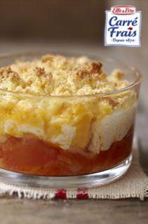 Crumble de tomates au Carré Frais () - Recette entrée - Aujourdhui.com