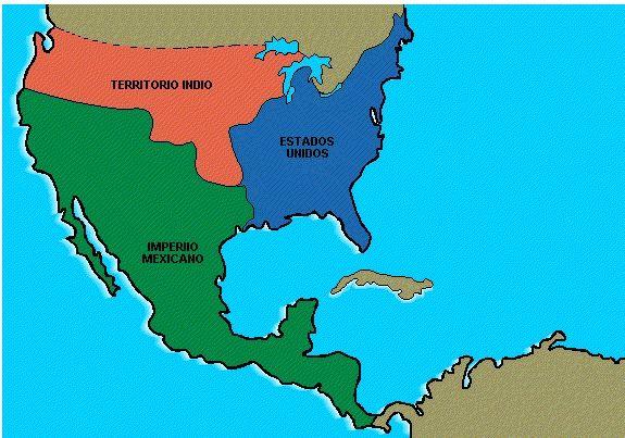 Imperio Mexicano año de 1824.