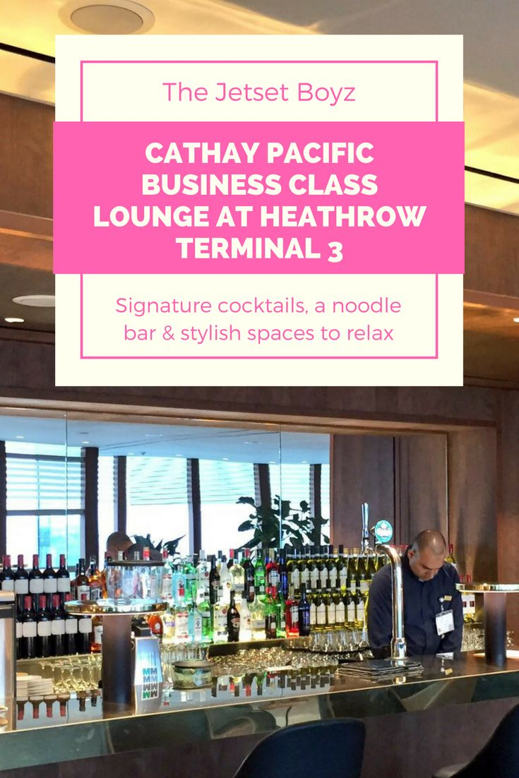 OneWorld partner Cathay Pacific closed their lounges at Heathrow Terminal 3 for over a year for a full make-over. We visited the Business Class Lounge just a few weeks after it re-opened in December 2016 and were suitably impressed by what it had to offer.