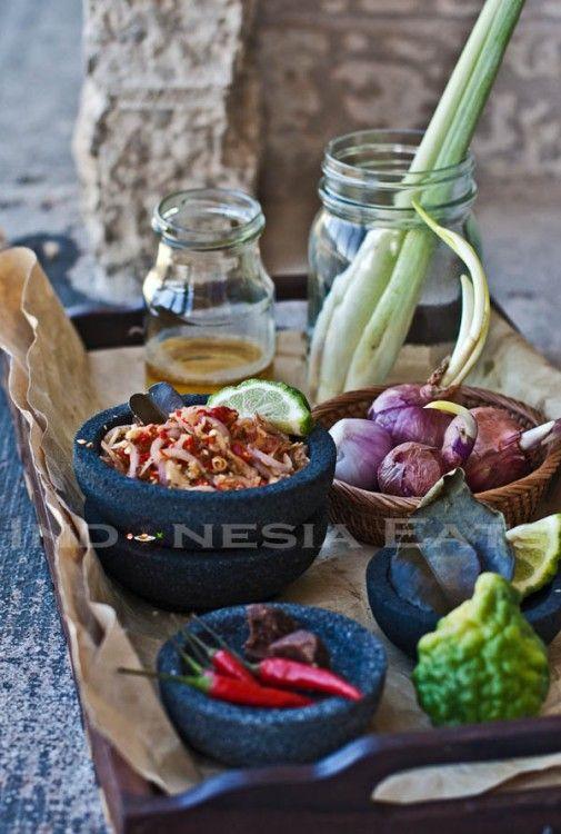 Sambal Matah Bali (Bali style raw sambal)