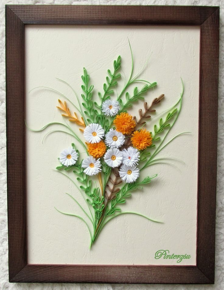 288 best images about quilling wall hangings and framed Wall art paper designs