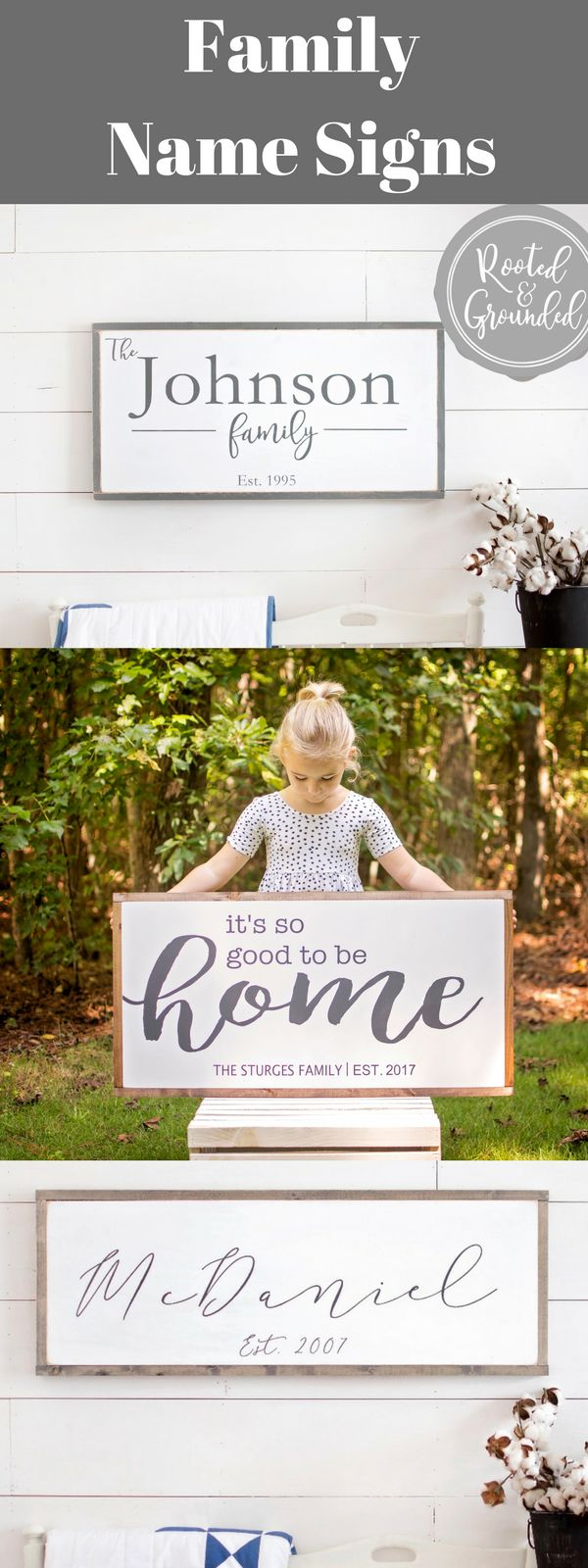 family name sign   last name sign   set. sign  it's so good to be home   wedding gift   housewarming gift   last name set. sign   front entry decor   family sign   rustic name sign