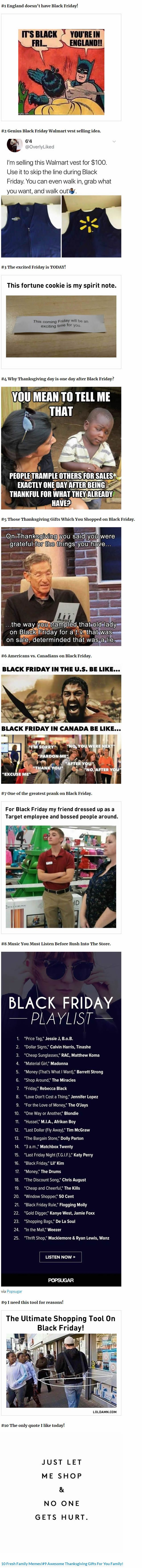 Ummmm.... we do have Black Friday in the UK. It might not be as ridiculously over the top as in America, but we have it.