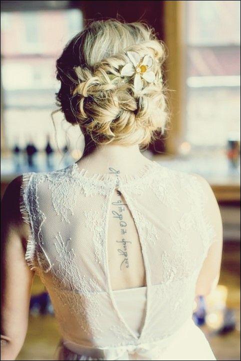 30 Elegante Und Anmutige Hochzeit Frisuren Mit Blumen Beliebte