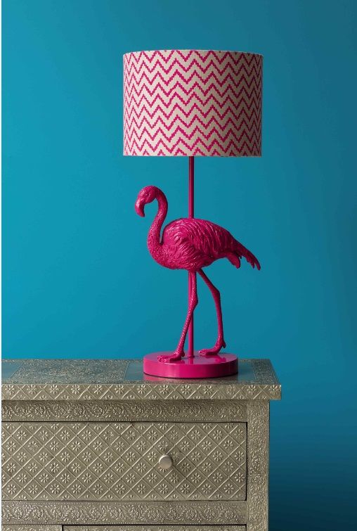 Our fabulous flamingo lamp will brighten up your home in an instant! #homedecor #MatthewWilliamson