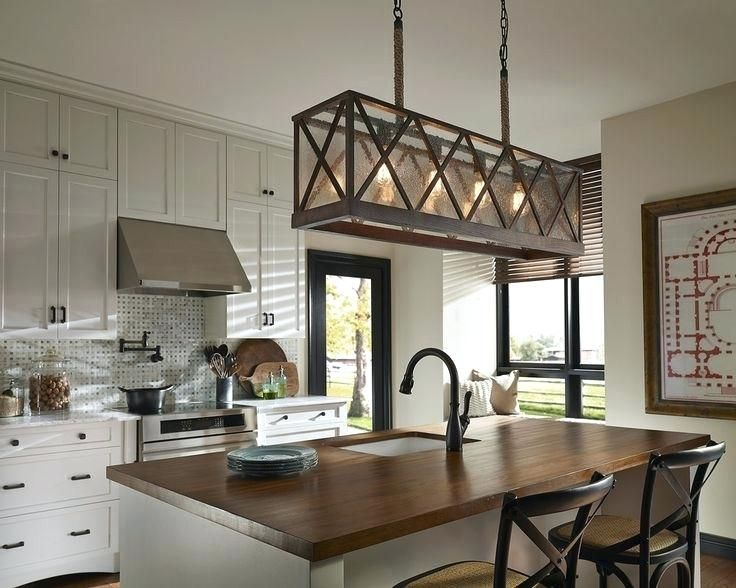 Enchanting Kitchen Lights Over Breakfast Bar Pictures Idea
