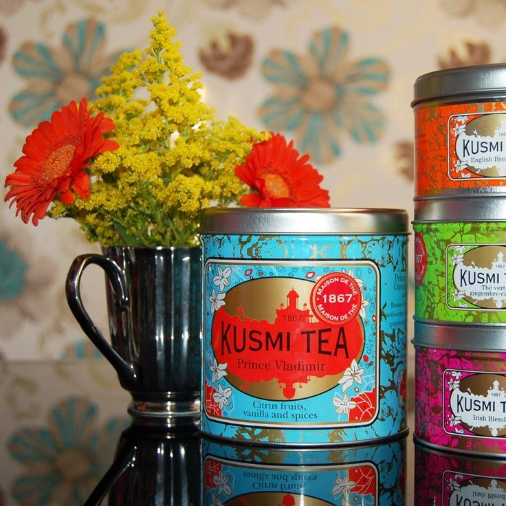 Kusmi tea - our favourite Prince Vladimir!