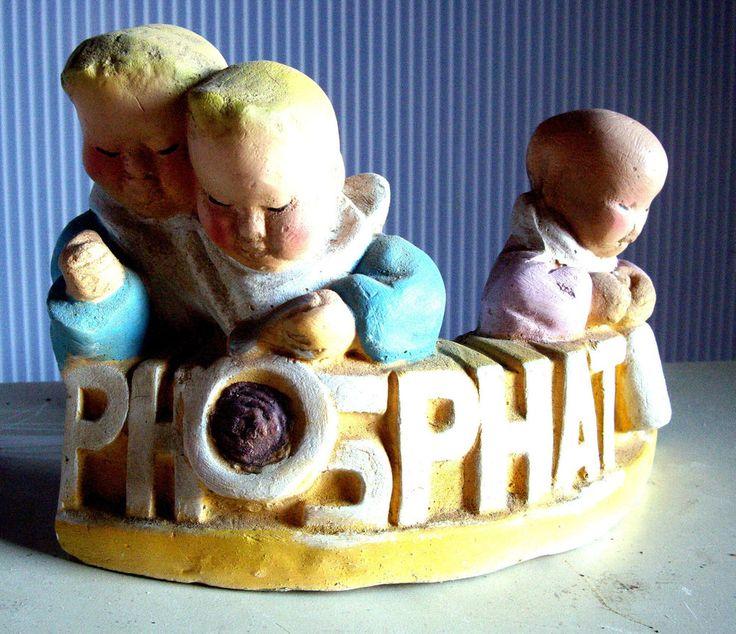 3 tete enfants bebes buste publicite phosphatine for Chambre enfant confo