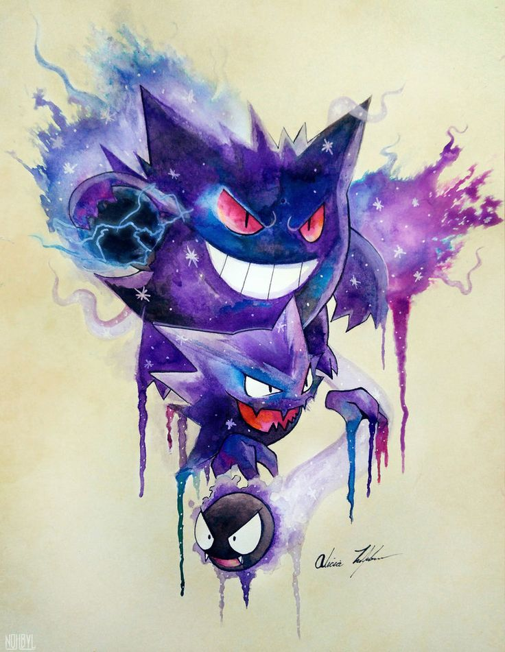 Ghastly Evolutions by Nohbyl on DeviantArt