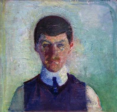 Ludvig Karsten, Digitalt Museum - Selvportrett [Maleri]