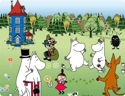 The Happy Moomins