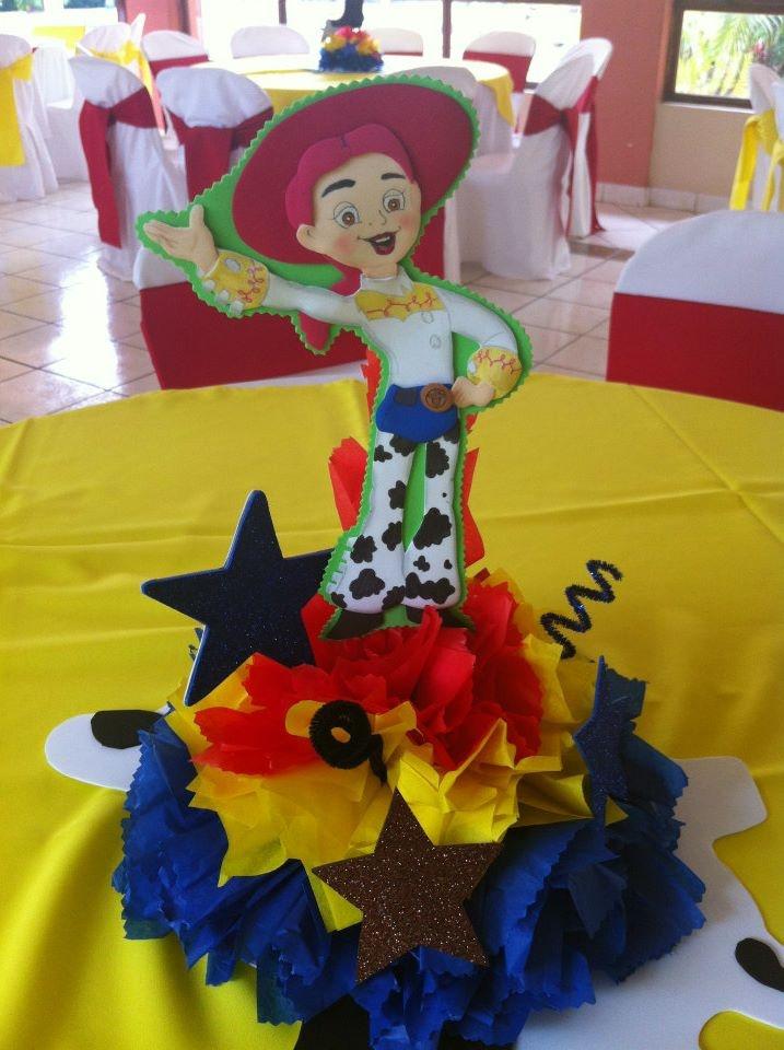 Centro de mesa de Jessi la Vaquerita