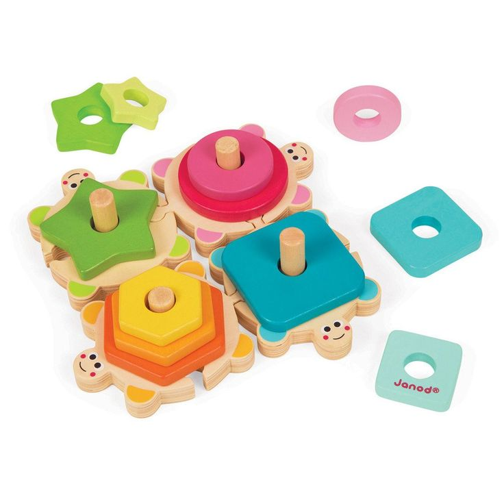 JANOD Puzzle Stacking Turtles