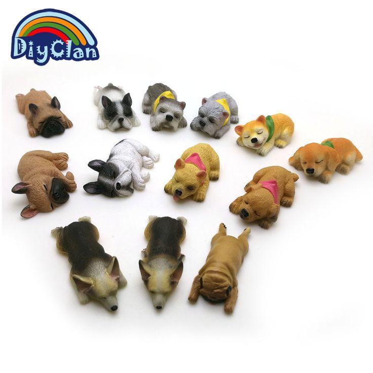New 13 dog shape silicone fondant cake decorating mold Corgi Bulldog chocolate polymer clay mould animal cake tool for baking