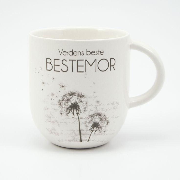 Kaffekopp til verdens beste bestemor fra lea.no