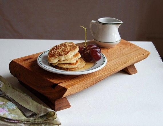 Bistro Serving Tray Cutting Board in Cherry by grayworksdesign, $60.00