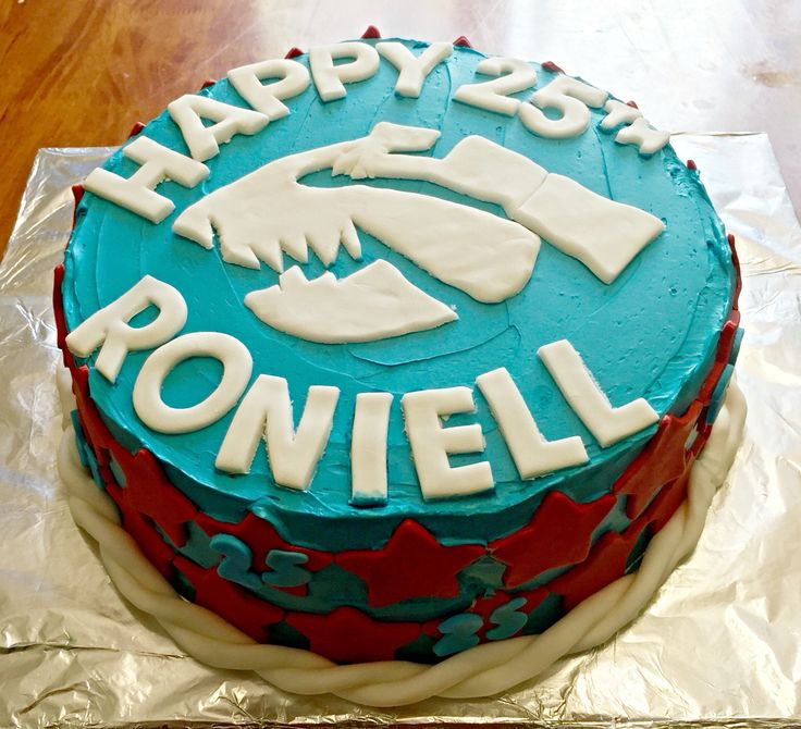 Bulldogs cake
