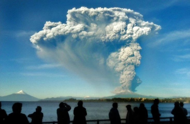 Southern Chile's Calbuco volcano erupted on Wednesday for the first time in nearly half a century, spewing a giant funnel of ash high into the sky and prompting authorities to declare a state of emergency.