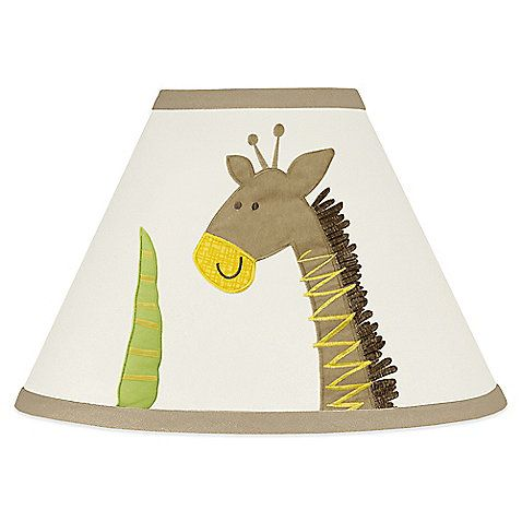 Sweet Jojo Designs Safari Outback Lamp Shade 26