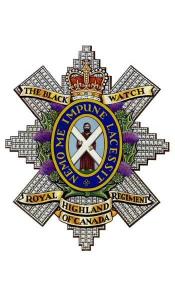 The Black Watch(Royal Highland Regiment of Canada).