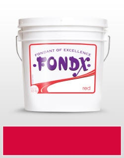 Red FondX Rolled Fondant Icing 10 lb. | CaljavaOnline.com #caljava #fondx