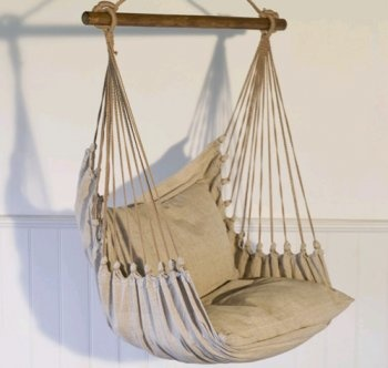 hanging chair to put in the outdoor bungalow