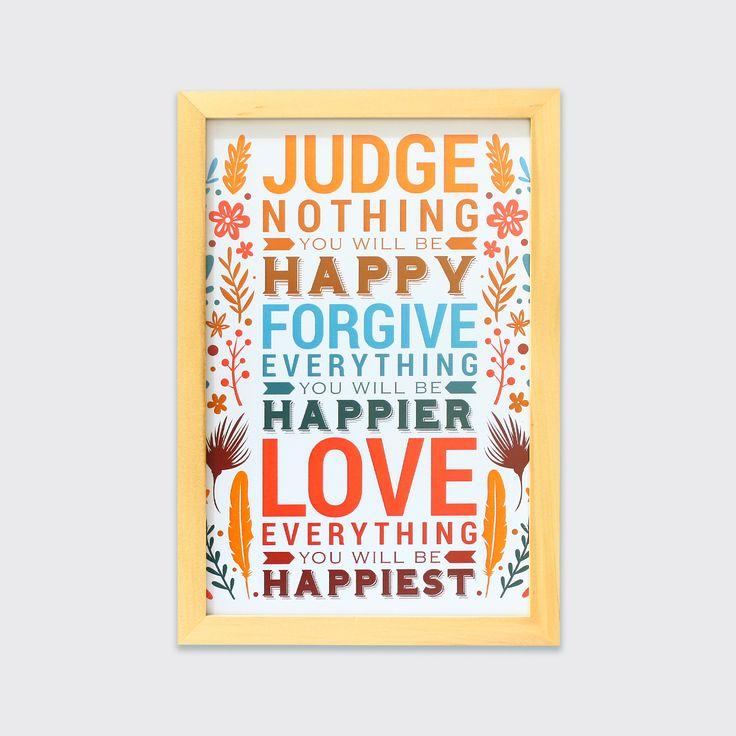 Love Everything (MAR16-10) - Dalam hidup terkadang kita hanya perlu menikmati dan mencintai agar bahagia datang kepada kita. Love everything you do and you have ya.