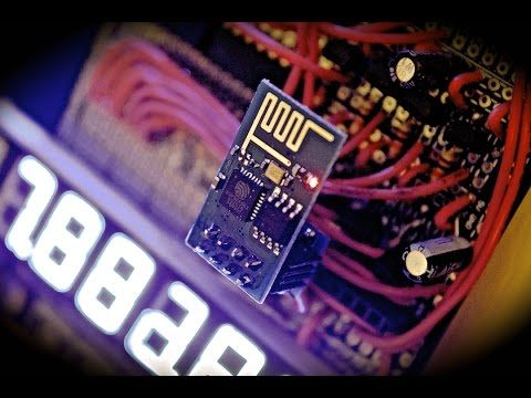 Cheap and Easy WiFi (IoT) Tutorial Part 2 - ESP8266 Arduino Code - Internet Of Things