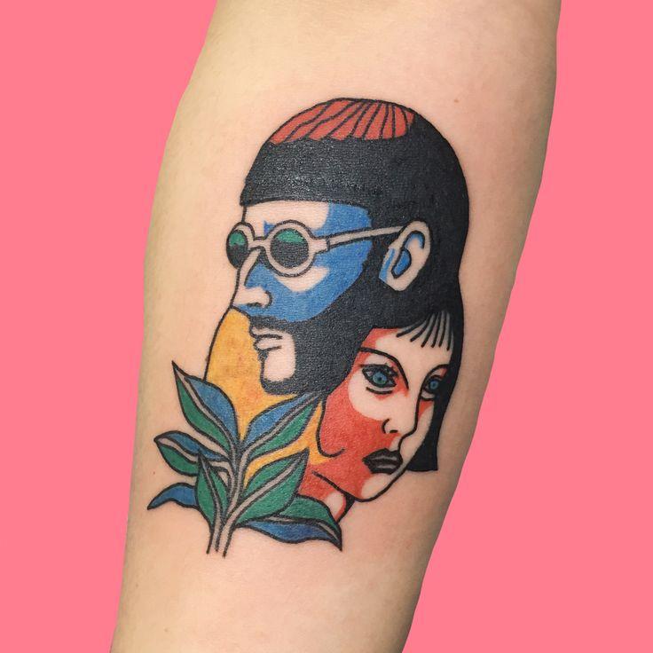Tattoo by Kim Michey | Leon the professional