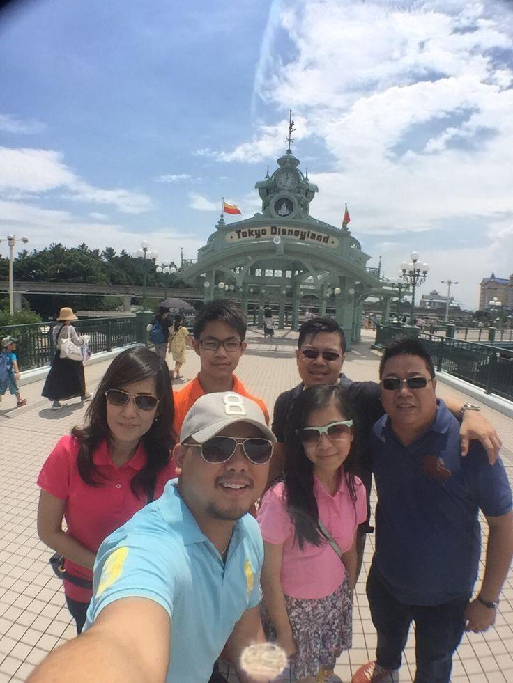 Family Time Tokyo Disneyland