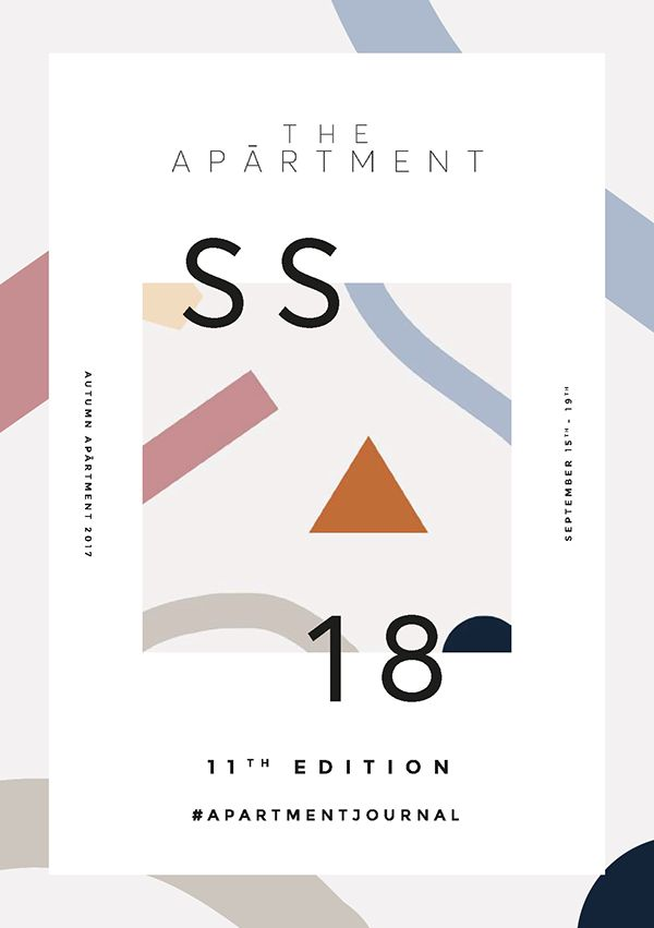 The Apārtment LFW S/S18 Booklet on Behance