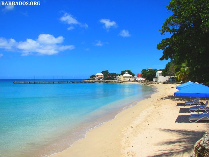 Breathtaking beach in the northern #Barbados town Speightstown.