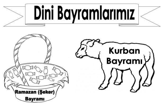 Kurbanbayramiboyama Boyama Okuloncesi Boyamasayfalari