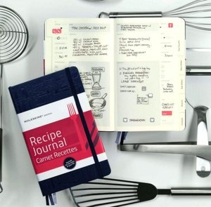 OK. I admit that I'm a bit of a luddite, however, I do love this for writing down my favourite recipes, and it's Moleskine, they master this sort of thing hands down.