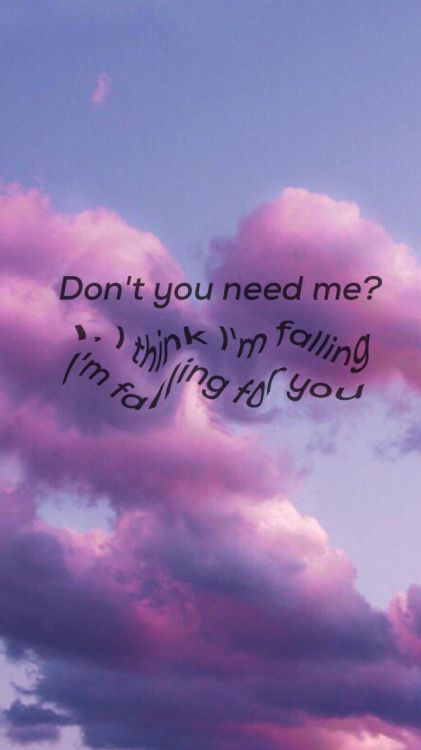 The 1975: Fallingforyou lyric wallpaper