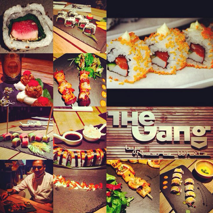 Thursday night is a special night for The Gang Restaurant,you can eat sushi and not only