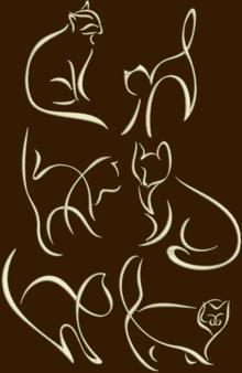 Free Stuffed Cat Pillow Patterns | Free Embroidery Dog Cat - Free Embroidery Patterns